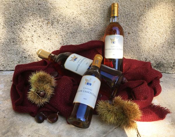 Dégustation de vins liquoreux